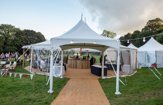 Marquee Hire in Sheffield  : Milestone Marquees